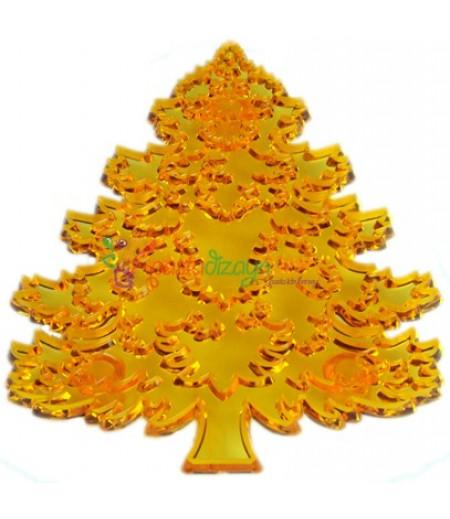 Çam Ağacı Figürlü Patchwork