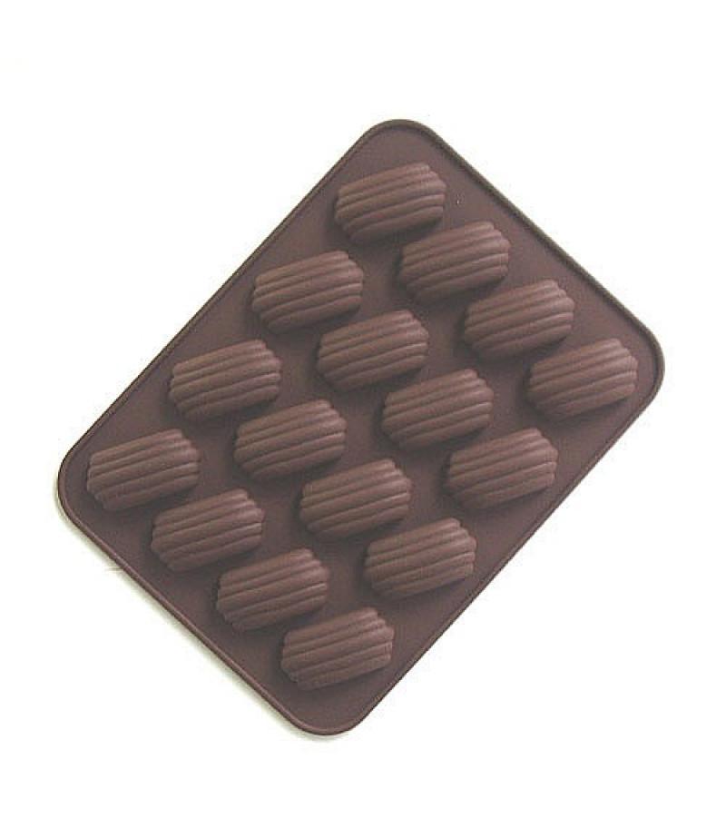 Çizgi Desenli Çikolata,Kokulu Taş Kalıbı