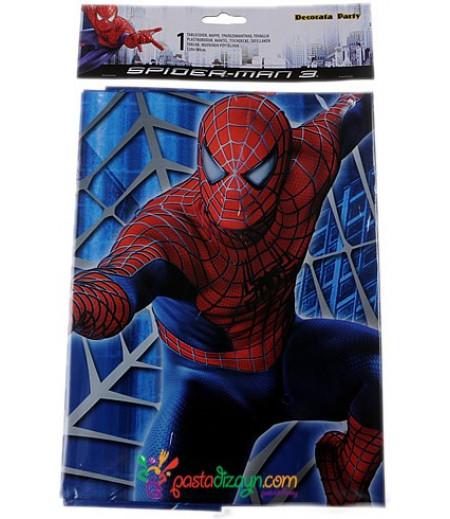 Örümcek Adam,Spiderman Temalı Masa Örtüsü