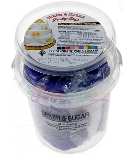 Şeker Sugar Mor Renk Şeker Hamuru,500gr