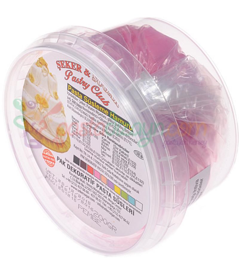 Şeker Sugar Pembe Renk Şeker Hamuru,200gr