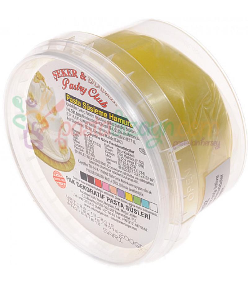Şeker Sugar Sarı Renk Şeker Hamuru,200gr