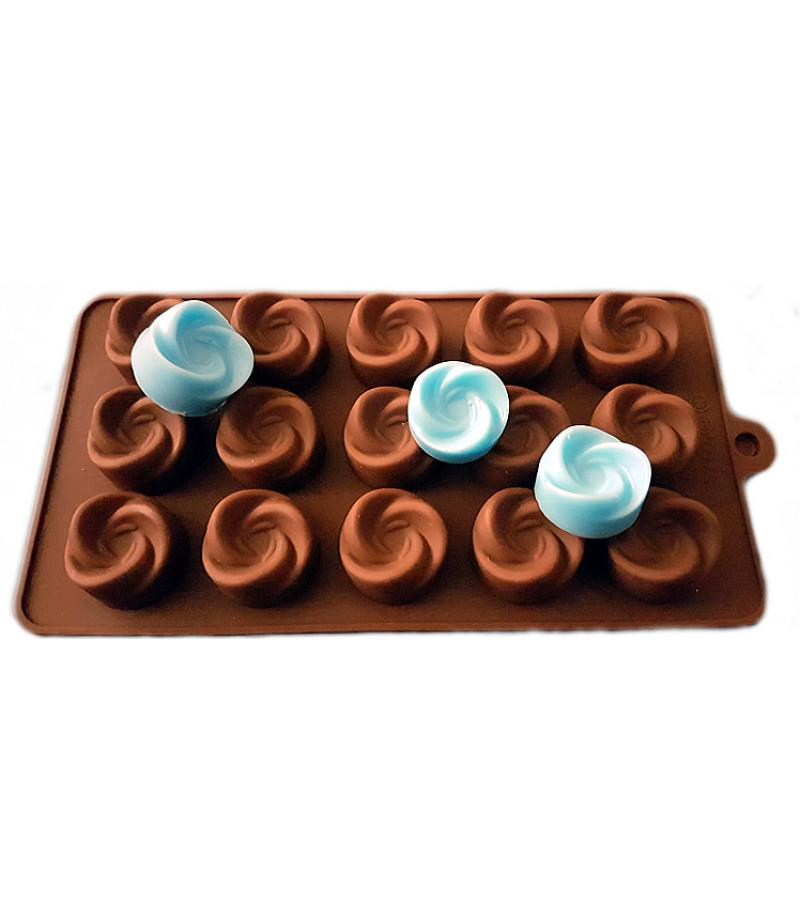 Açan Gül Çikolata,Sabun,Kokulu Taş Kalıbı