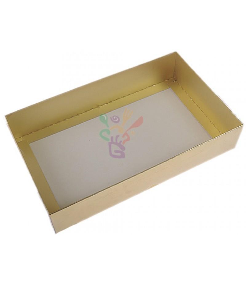Altın Rengi Asetat Kutular,15x25x5cm,Adet