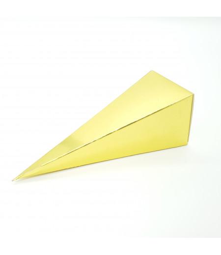 Altın Renk Külah Şekerlik
