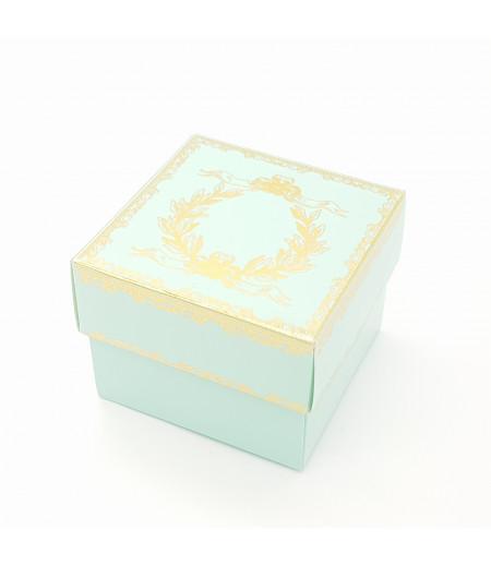 Altın Yaldızlı Süsleme Kutusu A.Mavi