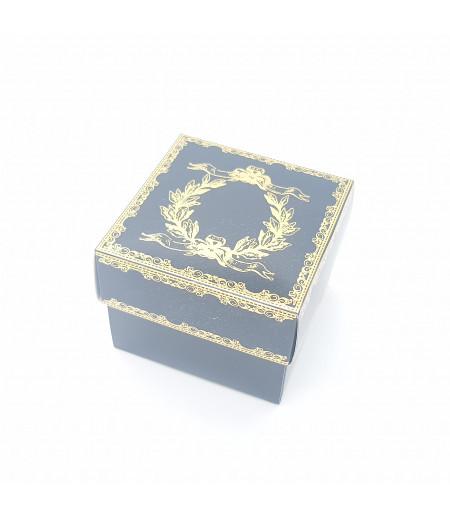 Altın Yaldızlı Süsleme Kutusu Siyah