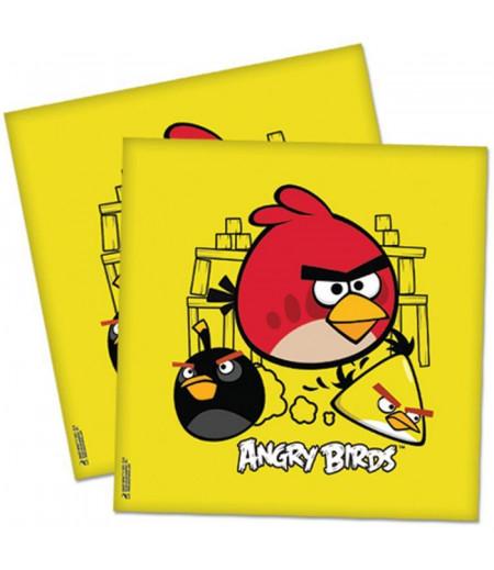Angry Birds Görselli Kağıt Peçeteler,20 Adet