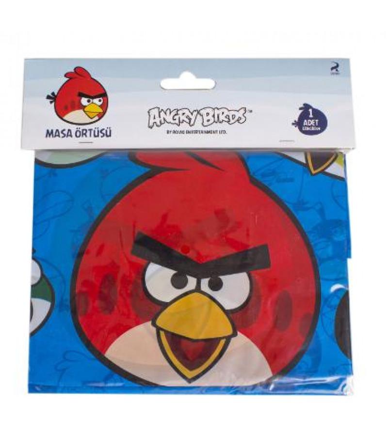 Angry Birds Görselli Kağıt Masa Örtüsü