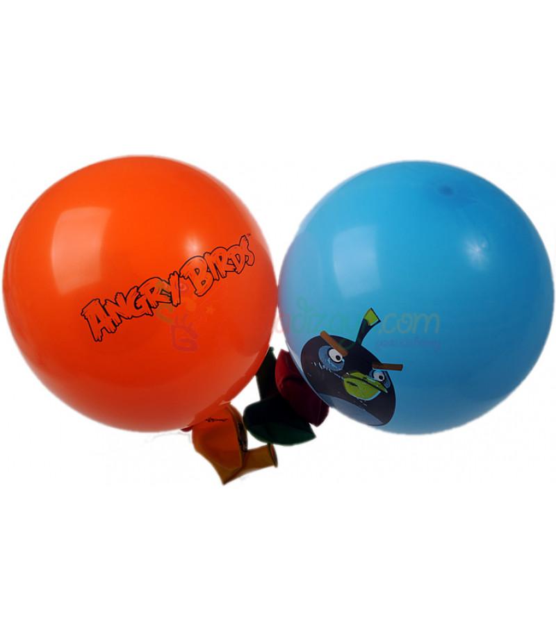 Angry Birds Renkli Balon Seti,12 Adet