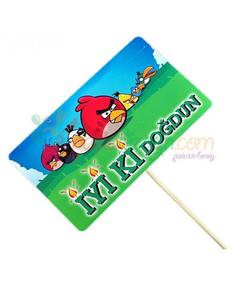 Angry Birds Temalı Konuşma Balonu