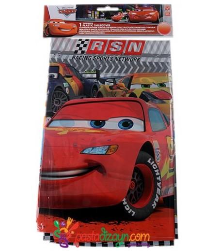 Arabalar,Cars Masa Örtüsü