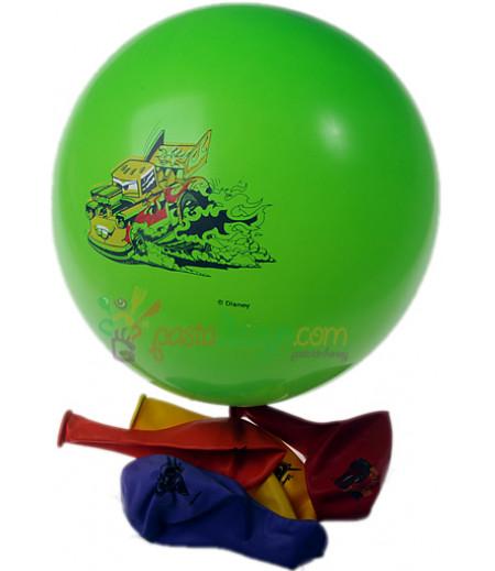 Arabalar,Cars Renkli Balon Seti,12 Adet