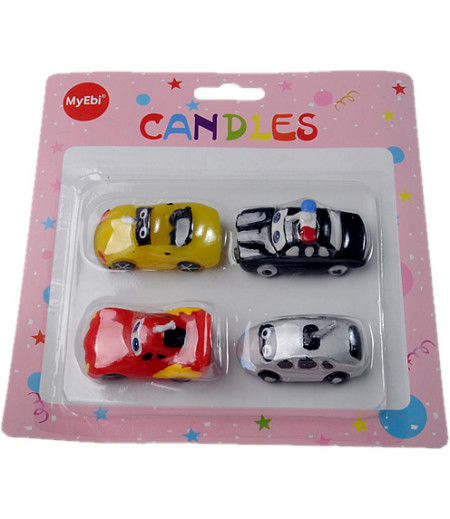 Arabalar,Cars Temalı Doğum Günü Mumları