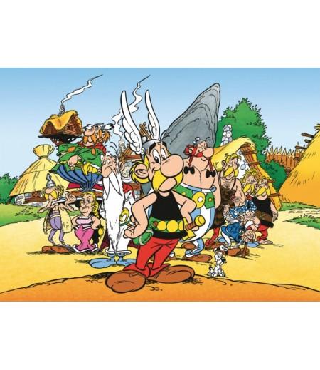 Asterix ve Oberix Şeker Hamuru Kağıdı ile Baskı
