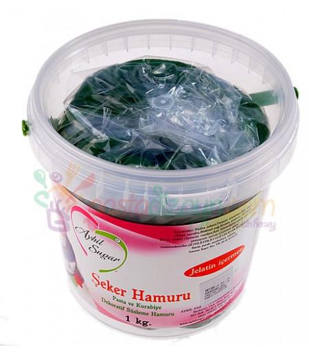 Aybil Çimen Yeşili Şeker Hamuru,1kg