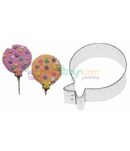 Balon Kurabiye  Kalıbı,6cm çap