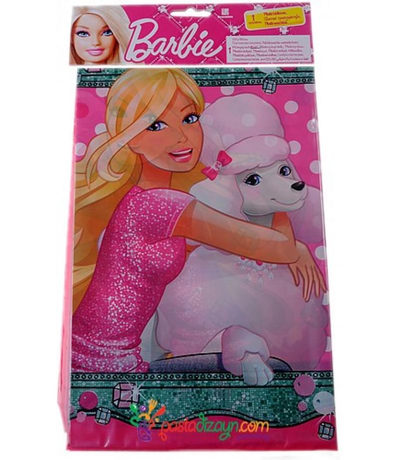 Barbie Görselli Masa Örtüsü