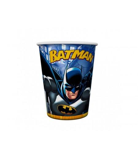 Batman Görselli Kağıt Bardaklar,8 Adet