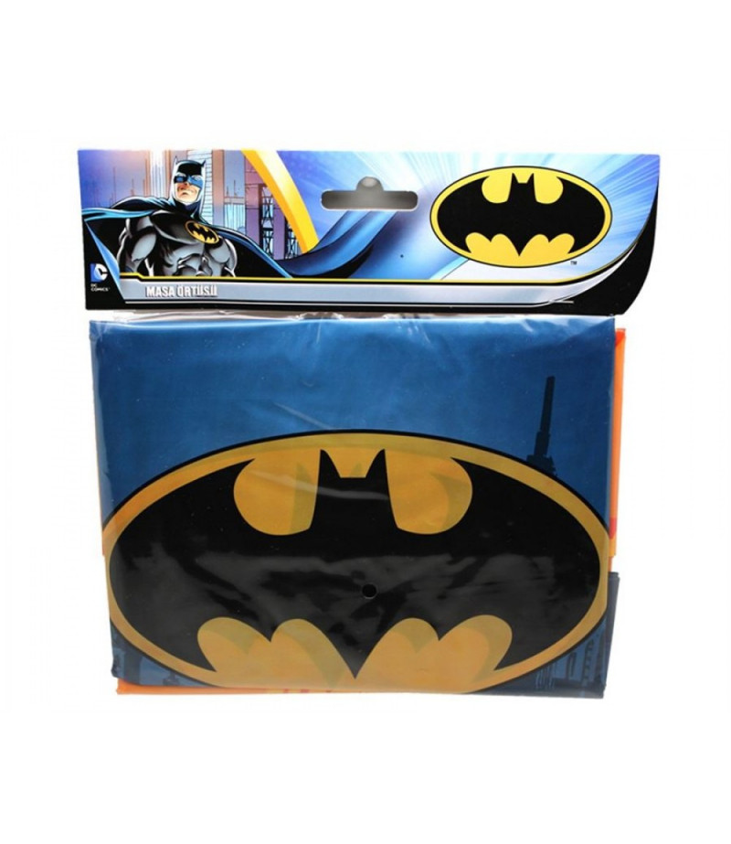 Batman Görselli Kağıt Masa Örtüsü