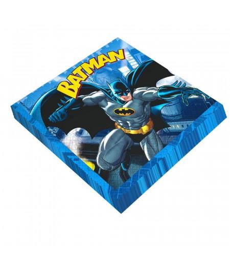 Batman Görselli Kağıt Peçete,20 Adet