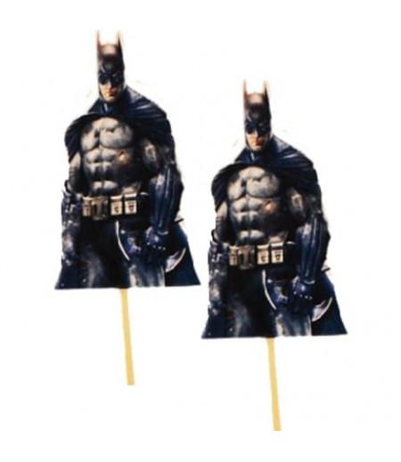 Batman Görselli Kürdanlar,10 Adet