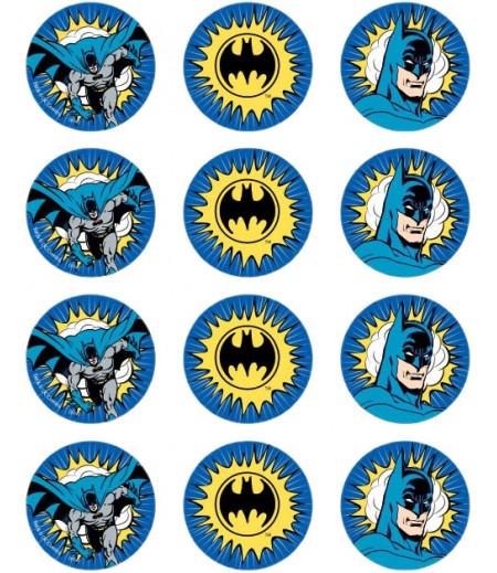 Batman Kurabiye İçin Gofret Kağıdı İle Baskı