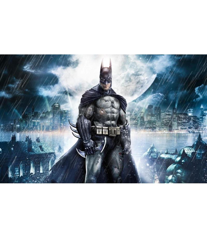 Batman Şeker Hamuru Kağıdı İle Baskı