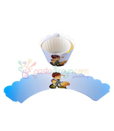 Benten Muffin Kenar Dantel,10 Adet