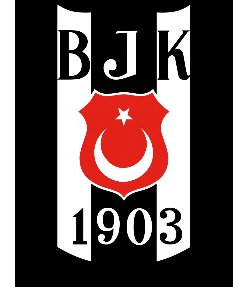 Beşiktaş  Logo Gofret Kağıdı İle Baskı