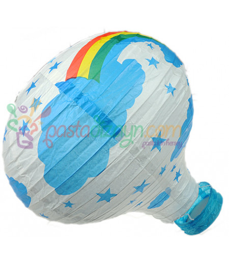Beyaz Renk Balon Avize Büyük Parti Feneri
