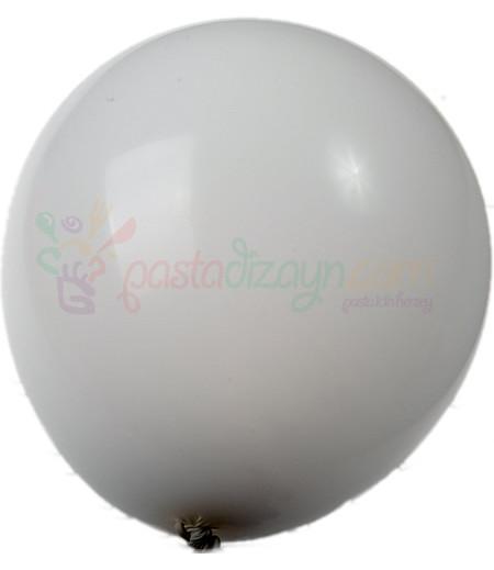 Beyaz Renk Balonlar,12 Adet
