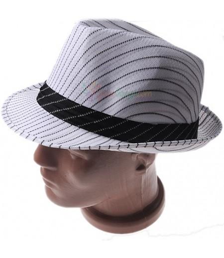Parti İçin Beyaz,Çizgili Şapka