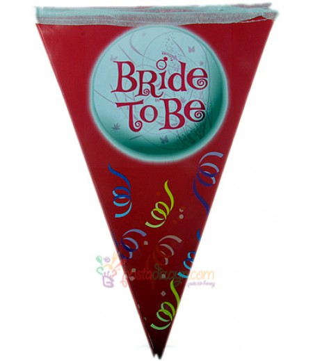 Bride To Be Yazılı Flamalar,Paket