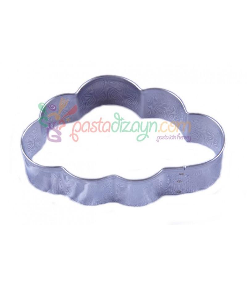 Bulut Kurabiye Kalibi 9x5 5cm Metal Sekillendiriciler
