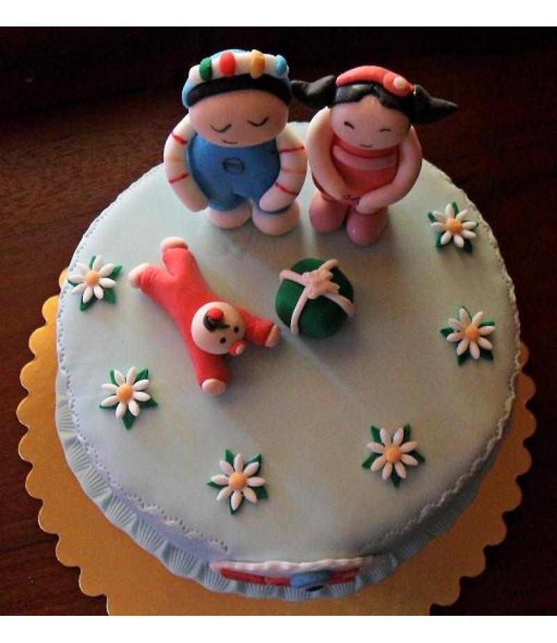 Pepe Figürlü Özel Pasta,13-15 Kişilik