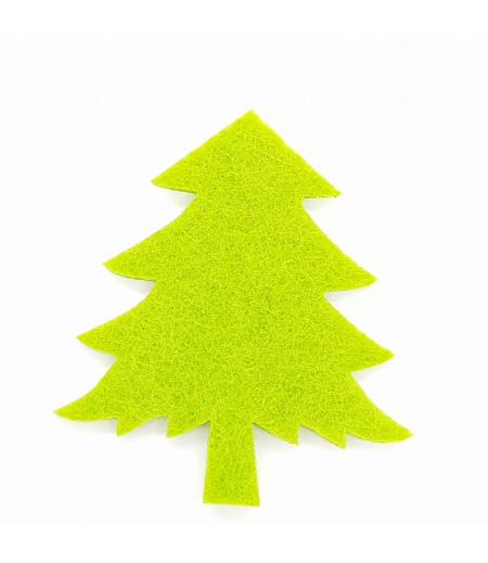 Çam Ağacı Dekor Keçe süsleme Yeşil