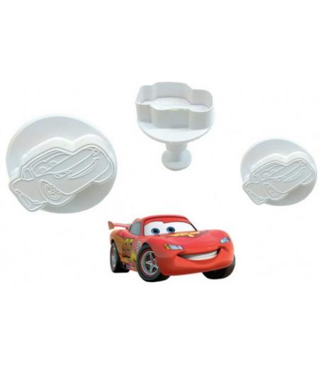 Cars Şekilli Basmalı Kopat Set, 3'lü