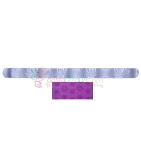 Çiçek Temalı Kalem Merdane,16.5 cm