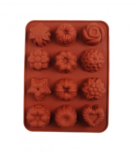 Çiçekler Çikolata,Sabun,Kokulu Taş Kalıbı