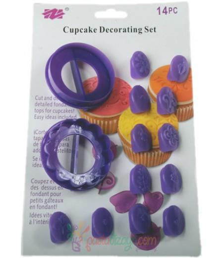 Cupcake Dekorasyon Figür Seti