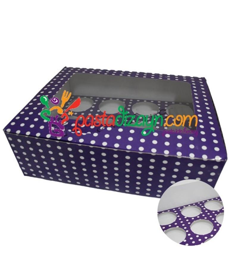 Cupcake Kutusu,16 Bölmeli