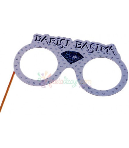 Darısı Başıma Karton Gözlük