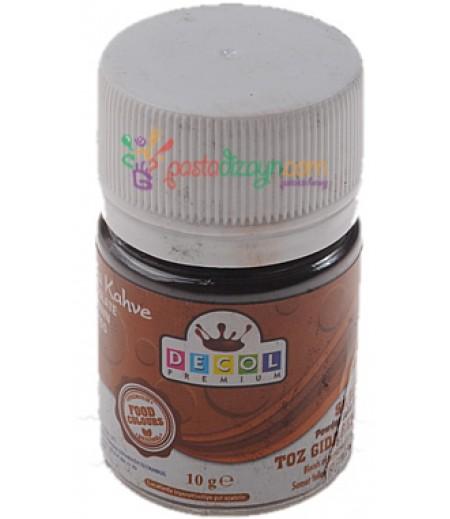Decol Çikolata Rengi Toz Gıda Boyası,10gr