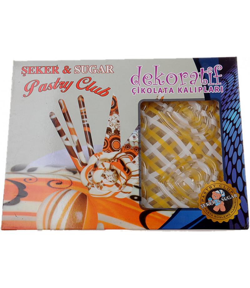 Dekoratif Çikolata Kalıpları,Paket -2