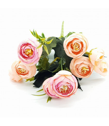 Dekoratif Yapay Çiçek Gül Buketi Yavru Ağzı