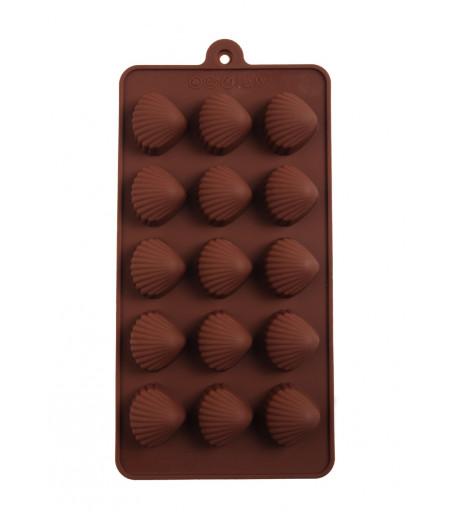 Deniz Kabukları Çikolata,Sabun,Kokulu Taş Kalıbı-1