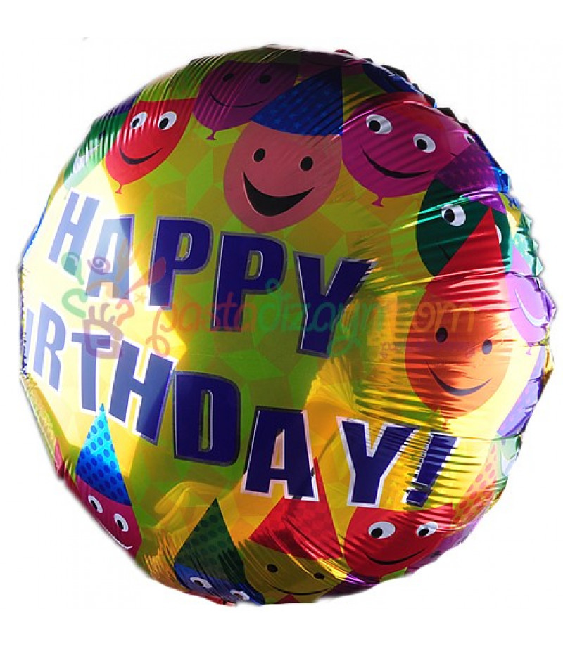 Doğum Günü Folyo Balon-3,Adet
