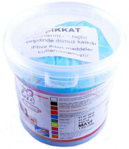 Dr.Paste Mavi Şeker Hamuru,1kg