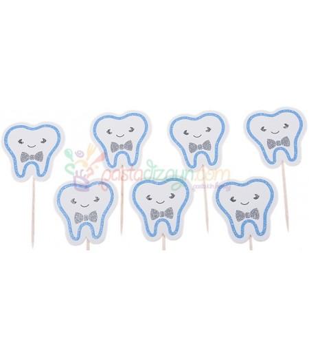 Erkek Bebek İçin Diş Kürdanlar,10 Adet